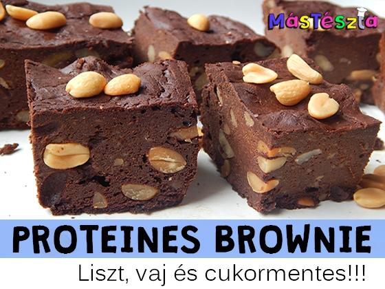 protein brownies recept